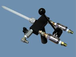 Dispense Guns Trigger Style Dynamic Mix Spray Valve
